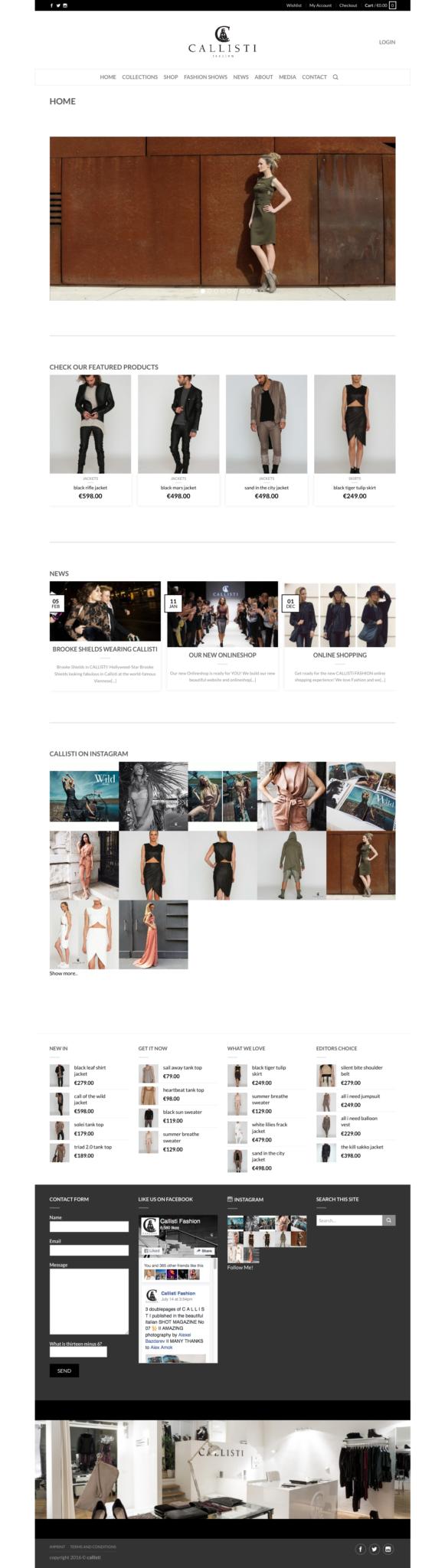 Callisti Website Design 36 digital&more