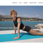 Fit Yoga by 36 digital&more Website Design