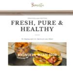 Bionista by 36 digital&more Website Design