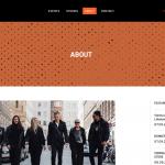 Vienna Fashion Festival Website Design by 36 digital&more