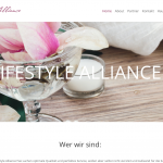 Lifestyle Alliance Website Design by 36 digital&more