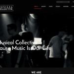 Musical Collective Website Design by 36 digital&more