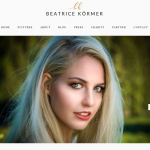 Beatrice Körmer Website Design by 36 digital&more